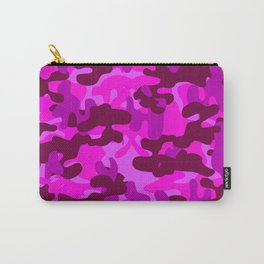 Camouflage (Fuchsia) Carry-All Pouch