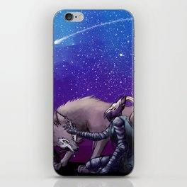 Artorias and Sif iPhone Skin