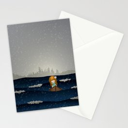 Cicily to The Sea Stationery Cards