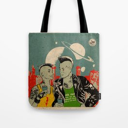 Alien Punks Tote Bag