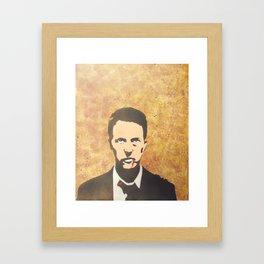 I Am Jack's Medulla Oblongata Framed Art Print