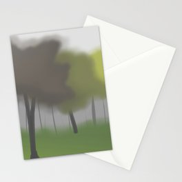 Forest in Mist Stationery Cards