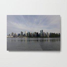 Vancouver BC Skyline Metal Print