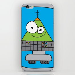 Triangle Robot iPhone Skin