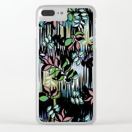 High Definition Leaves Clear iPhone Case