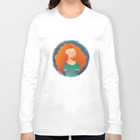merida Long Sleeve T-shirts featuring Merida by Chelli Reyes
