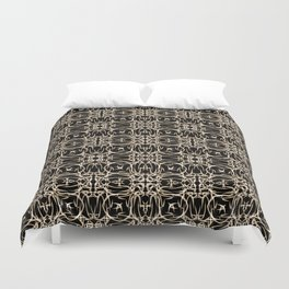 Abstract pattern . Duvet Cover