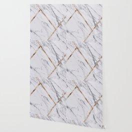 Rose Golden classic marble Wallpaper