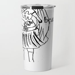 Body positivity: All bodies are beautiful  Travel Mug