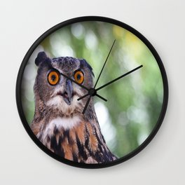 Hoot Wall Clock