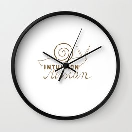 Intuition Mission Wall Clock