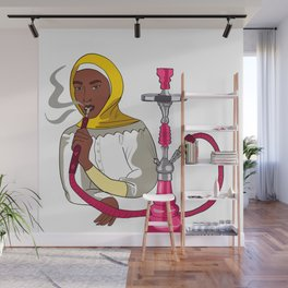 Hookah Wall Mural