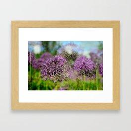 Summer Blur Framed Art Print