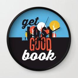 Get Lost - Just Read Wall Clock