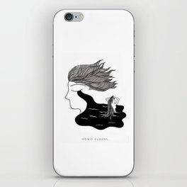 Men Cry More iPhone Skin