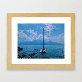 lake geneva, switzerland vi Framed Art Print