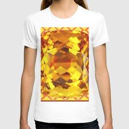 MADEIRA TOPAZ SEPTEMBER GEM BIRTHSTONE MODERN ART T-shirt
