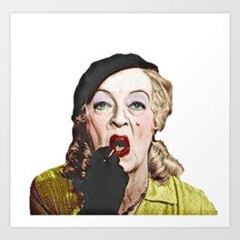Baby Jane- Bette Davis Art Print