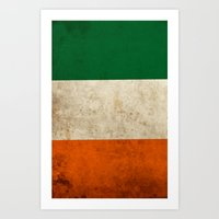 irish Art Prints featuring Irish by Jason Michael