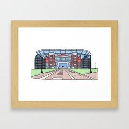 Home of Champions Framed Art Print