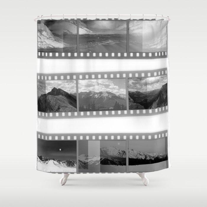 Exposure Shower Curtain