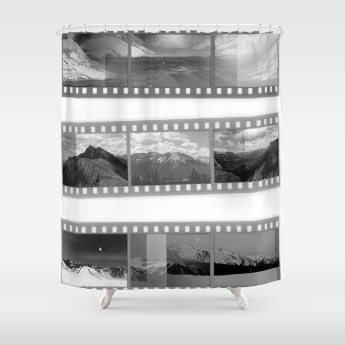 Exposure Shower Curtain