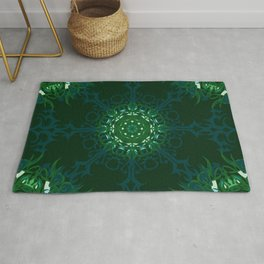Dark Forest Colors - Mosaic - Version 1.0 Rug