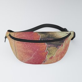 Autumn Maple Abstract Fanny Pack
