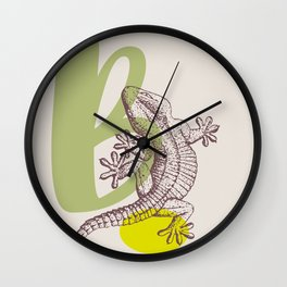 B Wall Clock