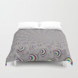 Psychedelic Swirl Duvet Cover