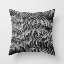 Darkness falls in the forest Throw Pillow