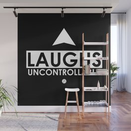 Laughs Uncontrollably Wall Mural