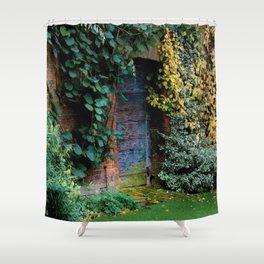 Lewis Carroll's Garden Shower Curtain