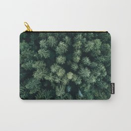 Forest from above - Landscape Photography Carry-All Pouch
