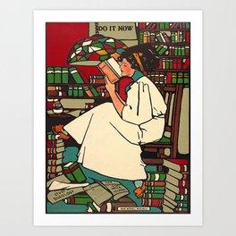 """""""Dig"""" Print by Sadie Wendell Mitchell Art Print"""