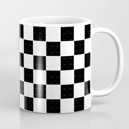 2 Tone Checks Coffee Mug
