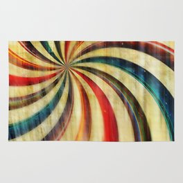 Wild Twirl Abstract Rug