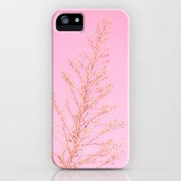 Seeds of Weeds in Pink iPhone Case