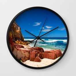 Seclusion Bay Wall Clock