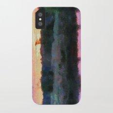 Monet Inspired Sunrise iPhone X Slim Case