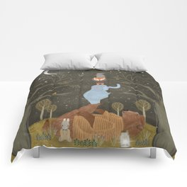 catching falling stars Comforters