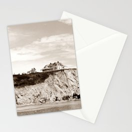 Big House on the Cliff Stationery Cards