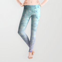 MERMAIDIANS AQUA PURPLE Leggings