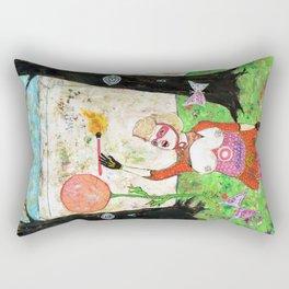 Secret Place II Rectangular Pillow