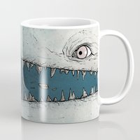 dick Mugs featuring Moby Dick by Jamie Leonard