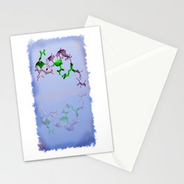 Self reflection of adrenalin Stationery Cards