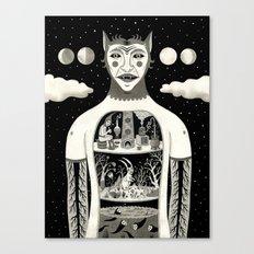 Under Skin Canvas Print