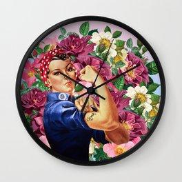 wir schaffen tas Wall Clock