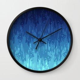 Meltdown Cold Wall Clock
