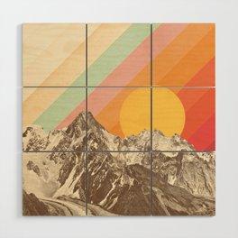 Mountainscape 1 Wood Wall Art
